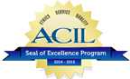 ACIL SEAL OF EXCELLENCE AWARD